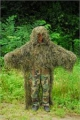 Military Stalker ghillie poncho woodland