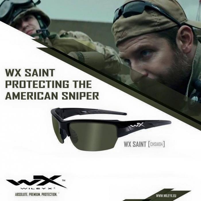 949d641c3bb Wiley X Saint Grey   Clear » Eye - Ear protection » Sniper Gear